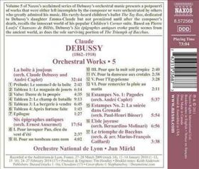 Debussy: Orchestral Works - Orchestral Works (CD)