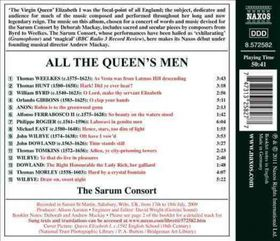 Consort / Heringman / Mackay - All The Queen's Men - Music For Elizabeth I (CD)