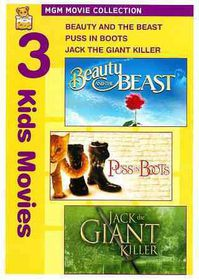 Beauty & the Beast/Puss in Boots/Jack - (Region 1 Import DVD)
