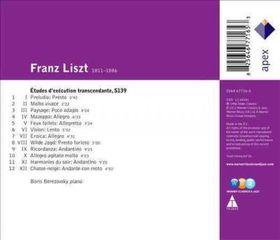 Liszt:Etudes D?Execution Transcendant - (Import CD)
