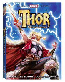 Thor:Tales of Asgard - (Region 1 Import DVD)