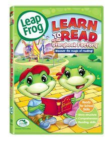 Leapfrog:Learn to Read at the Storybook Factory- (Region 1 Import DVD)