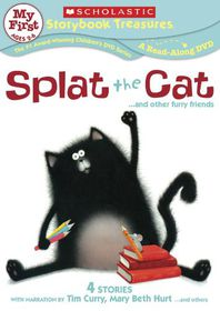 Splat the Cat and Other Furry Friends - (Region 1 Import DVD)
