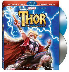 Thor:Tales of Asgard - (Region A Import Blu-ray Disc)