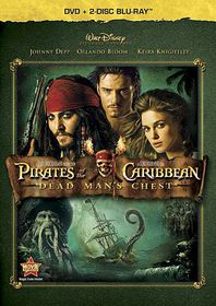 Pirates of the Caribbean:Dead Man's Chest - (Region A Import Blu-ray Disc)
