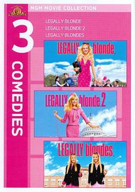 Legally Blonde Triple Feature - (Region 1 Import DVD)