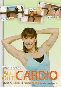 Mindy Mylrea:All out Cardio Workout- (Region 1 Import DVD)