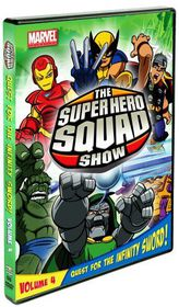 Super Hero Squad Show:Quest for T V 4 - (Region 1 Import DVD)