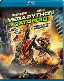 Mega Python Vs Gatoroid - (Region A Import Blu-ray Disc)