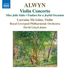 Alwyn / Lloyd-jones / Rlp / Mcaslan - Violin Concerto - Miss Julie Suite (CD)