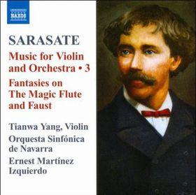Sarasate / Yang / Orq Sinf De Navarra / Izquierdo - Music For Violin & Orchestra 3 (CD)