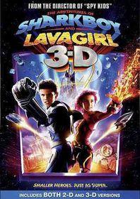 Adventures of Sharkboy and Lavagir 3d - (Region 1 Import DVD)