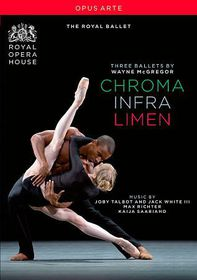 Three Ballets by Wayne Mcgregor - (Region 1 Import DVD)