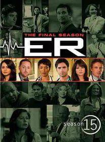 Er:Complete Fifteenth Season - (Region 1 Import DVD)