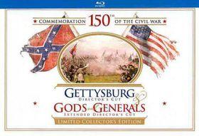 Gettysburg/Gods and Generals Ltd Ce - (Region A Import Blu-ray Disc)