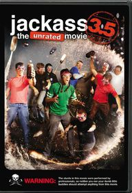 Jackass 3.5:Unrated Movie - (Region 1 Import DVD)