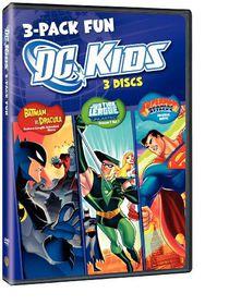 DC Kids 3 Pack Fun - (Region 1 Import DVD)