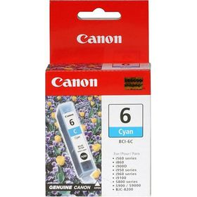 Canon BCi-6 Cyan Printer Cartridge
