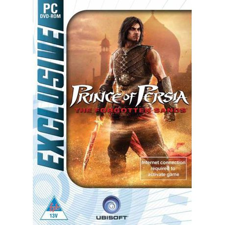 Exclusive Prince Of Persia The Forgotten Sands Pc Dvd Rom Eol Buy Online In South Africa Takealot Com