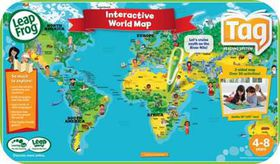 LeapFrog - Tag World Map