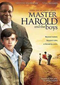 Master Harold and the Boys - (Region 1 Import DVD)