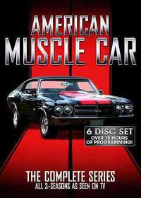 American Muscle Car:Complete Series - (Region 1 Import DVD)