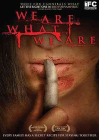 We Are What We Are - (Region 1 Import DVD)