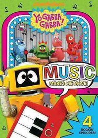 Yo Gabba Gabba:Music Makes Me Move - (Region 1 Import DVD)