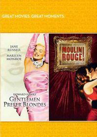 Gentlemen Prefer Blondes/Moulin Rouge - (Region 1 Import DVD)