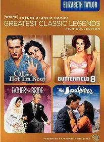 Tcm Greatest Films:Elizabeth Taylor - (Region 1 Import DVD)
