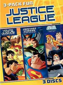 Justice League 3 Pack Fun - (Region 1 Import DVD)