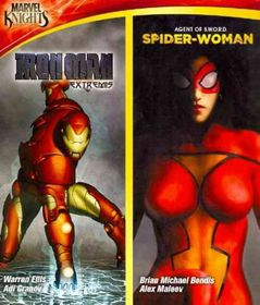 Marvel Knights:Iron Man & Spider Woma - (Region A Import Blu-ray Disc)