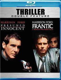 Presumed Innocent/Frantic - (Region A Import Blu-ray Disc)