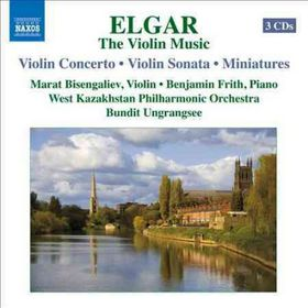 Elgar: Violin Music - The Violin Music (CD)