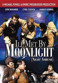 Ill Met by Moonlight (Night Ambush) - (Region 1 Import DVD)