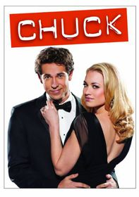 Chuck:Complete Fourth Season - (Region 1 Import DVD)