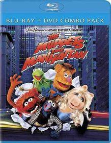 Muppets Take Manhattan - (Region A Import Blu-ray Disc)