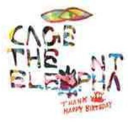 Cage The Elephant - Thank You Happy Birthday (CD)