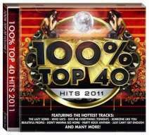 100% Top 40 Hits 2011 - Various Artists (CD)