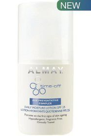 Almay Time Off Last/Moisture Lotion 100ml Spf 25