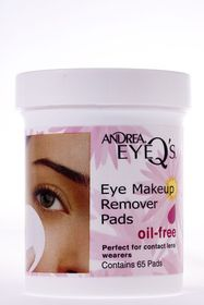 Andrea Eye Q'S Oil Free (65 Pads)