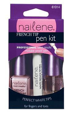 French Tip Pen Pearl White 61022 by nailene #12