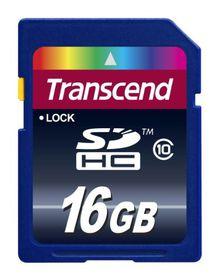 Transcend 16GB Class 10 SDHC Card