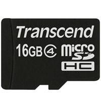 Transcend 16GB Class 4 Micro SD with Adapter