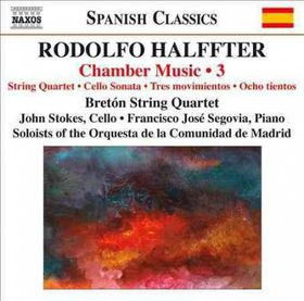 Halffter: Chamber Music Vol 3 - Chamber Music - Vol.3 (CD)