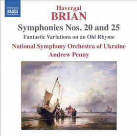 Brian: Symphonies 20 & 25 - Symphonies Nos.20 & 25 (CD)