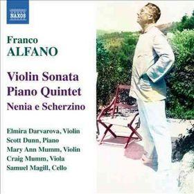 Alfano: Violin Sonata/piano Quintet - Violin Sonata / Piano Quintet (CD)
