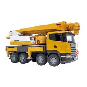 Bruder - Scania R-Series Liebherr Crane With Lights and Sound