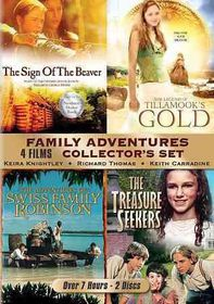 Family Adventures Collector's Set - (Region 1 Import DVD)