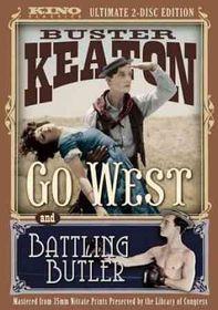 Battling Butler/Go West - (Region 1 Import DVD)